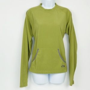 The North Face Popover Pouch Pocket Fleece Top